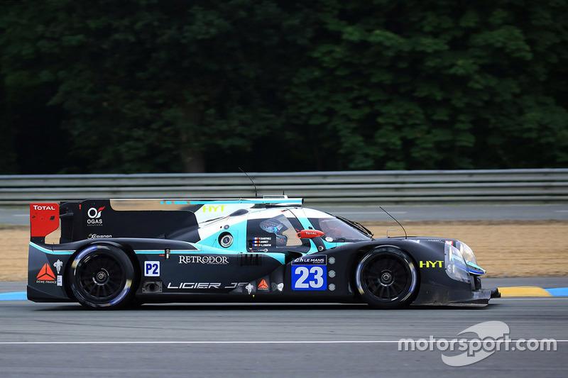10. LMP2: #23 Panis Barthez Competition, Ligier JS P2 Nissan