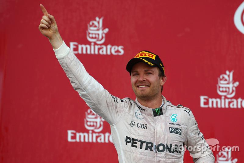 Перше місце Ніко Росберг, Mercedes AMG Petronas F1 W07