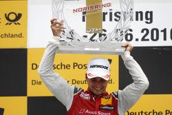Podium: Race winner Nico Müller, Audi Sport Team Abt Sportsline, Audi RS 5 DTM