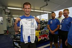 Команда вітає Себастьяна Ож'є, Volkswagen Motorsport з народженням сина Тіма