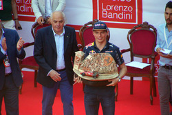 Max Verstappen, Red Bull Racing at the presentation of the Trofeo Lorenzo Bandini