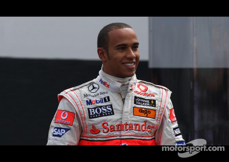 F1 GP 2008 LEWIS HAMILTON