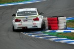 Augusto Farfus hits a tyre barriere, WTCC Oschersleben 2009