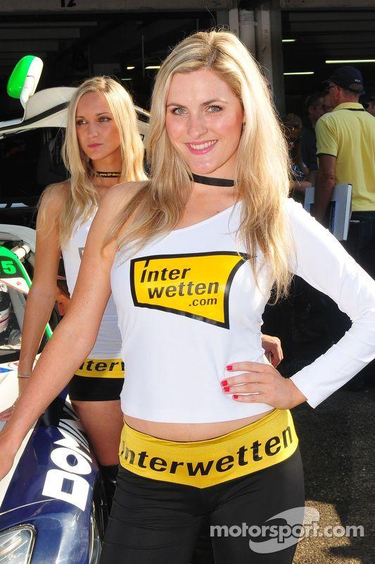 Lovely Heico Motorsports Girl