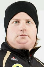 Kimi Raikkonen has been eating too much ice cream