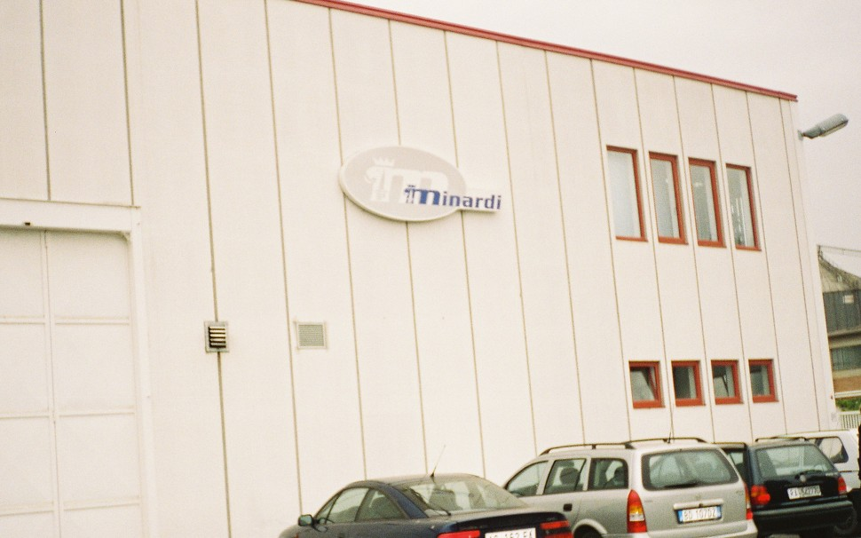 Minardi F1 Factory visit 2000' Arch
