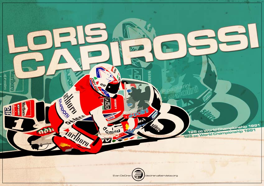Loris Capirossi - 125cc 1991