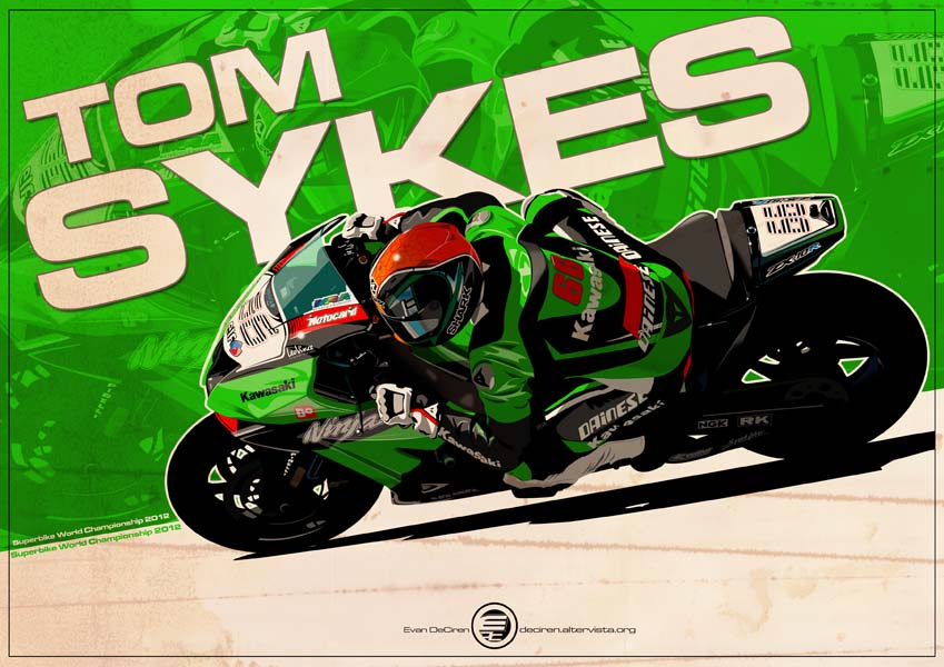 Tom Sykes - SBK 2012