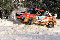woman Rally driver