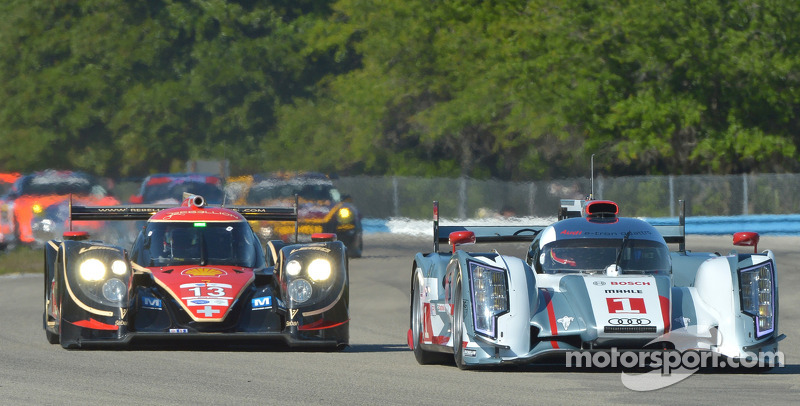 #1 Audi R18 dominance on Sebring 12 Hour