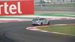 The E63 AMG Medical Car at the BIC