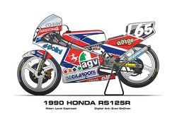 Honda RS125R – 1990 Loris Capirossi