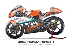 Honda RS125R – 2002 Masao Azuma