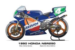 Honda NSR250 - 1990 Carlos Cardus