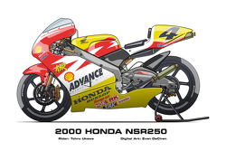 Honda NSR250 - 2000 Tohru Ukawa