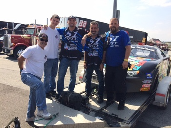 Carlos Vieira & the #51 Rasing Autism Awareness Money Car