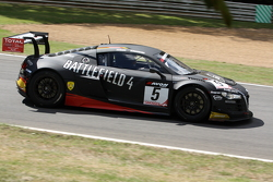 Rembert Berg and Warren Hughes (WRT / Audi R8 LMS Ultra)