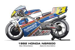 Honda NSR500 - 1992 Michael Doohan