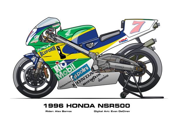 Honda NSR500 - 1996 Alex Barros