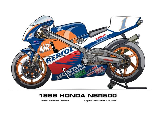 Honda NSR500 - 1996 Michael Doohan