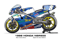 Honda NSR500 - 1998 Carlos Checa