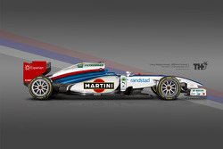 Williams Martini F1 Concept