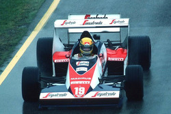 Ayrton Senna at San Marino GP in 1984
