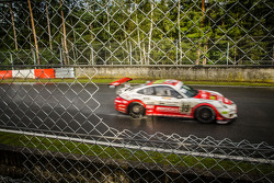 Belgium Racing #99 997 GT3 Cup going for the win