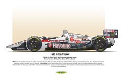 Winner: Valvoline 200 Grand Prix - Driver: #6 Mario Andretti