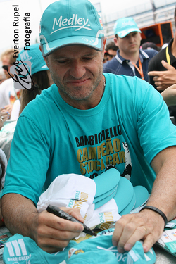 2014 champion, Rubens barrichello