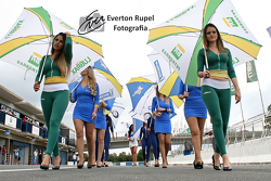 Brazilian Moto 1000 GP championship, grid girls