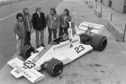 Tony Brise and Graham Hill