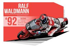 Ralf Waldmann - 1992 Suzuka