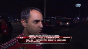 Montoya's Post Crash Interview - Daytona 500 - Daytona - 02/27/2012