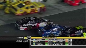 Trouble on Pit Road - Daytona - 07/07/2012