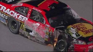 Jamie McMurray Draws Caution - Atlanta - 09/02/2012