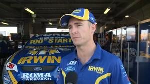 V8 Star Gets Estra Surprise for His 100TH Race Start