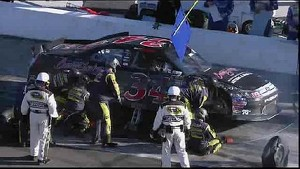 David Ragan Wrecks Into Turn 4 Wall