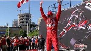 Dixon and Bourdais on Toronto Race 1