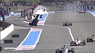 Andrea Pizzitola's big crash, Formula Renault 2.0 at Paul Ricard 2013
