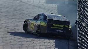 NASCAR Joe Nemechek goes spinning | Texas Motor Speedway (2013)