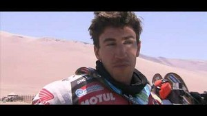 2014 Dakar Stage 9 - Team HRC