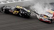 Major wreck following NNS finish at Daytona