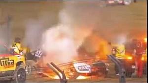 Eric Barron crash Lake Elsinore