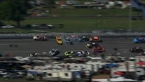 Jimmie Johnson Causes 2nd Major Wreck - Talladega - 2014 NASCAR Sprint Cup
