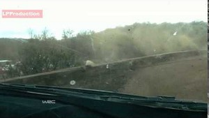 Hirvonen crashes - 2014 Rally Argentina WRC