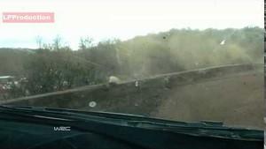 Hirvonen crashes - 2014 Rally Argentina WRC