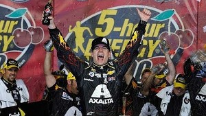 Victory Lane: Jeff Gordon