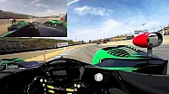 Scott Sharp Visor Cam at Mazda Raceway