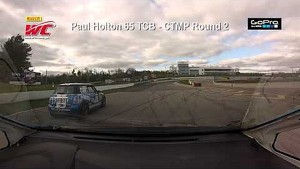 CTMP 2014 - Paul Holton On Board Highlights of Round  2 TCB